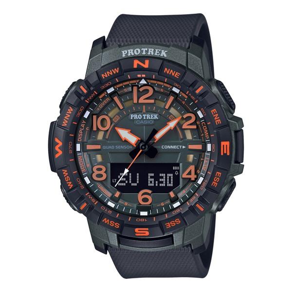時計ケースセット国内正規品カシオ CASIO 腕時計 PRT B50FE 3JR PROTREK プロトレックメンズ Bluetooth搭載 樹脂バンド クオーツ アナデジoQrBxCWde