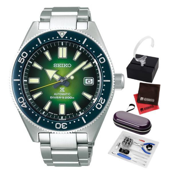 (5点セット)(国内正規品)(セイコー)SEIKO 腕時計 SBDC077 (プロスペックス)PROSPEX メンズ ダイバースキューバ ヒストリカルコレクション ネット限定(ステンレスバンド 自動巻き(手巻付) アナログ)