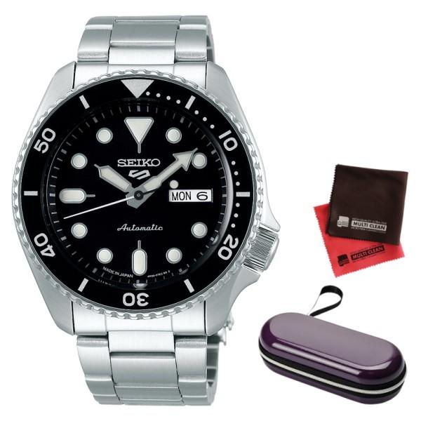 (時計ケース・クロスセット)(国内正規品)(セイコー)SEIKO 腕時計 SBSA005 (5スポーツ)SEIKO 5 SPORTS メカニカル Sports 流通限定モデル(ステンレスバンド 自動巻き(手巻付) アナログ)