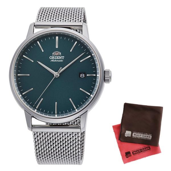 (クロスセット)(国内正規品)(オリエント)ORIENT 腕時計 RN-AC0E06E (コンテンポラリー)CONTEMPORARY メンズ(ステンレスバンド 自動巻き(手巻付) アナログ)