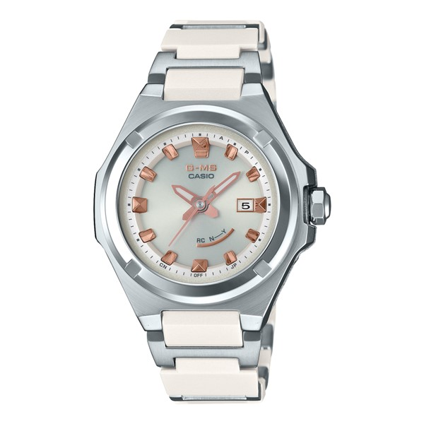 (国内正規品)(カシオ)CASIO 腕時計 MSG-W300C-7AJF (ベビーG)BABY-G レディース G-MS(コンポジットバンド 電波ソーラー アナログ)
