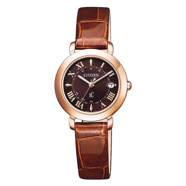 (国内正規品)(シチズン)CITIZEN 腕時計 ES9442-04W (クロスシー)xC レディース ティタニア ハッピーフライト hikari collection(牛革バンド 電波ソーラー アナログ)