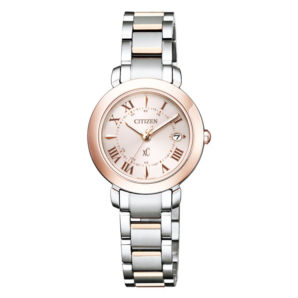 (国内正規品)(シチズン)CITIZEN 腕時計 ES9445-57W (クロスシー)xC レディース ティタニア ハッピーフライト hikari collection サクラピンク(チタンバンド 電波ソーラー アナログ)