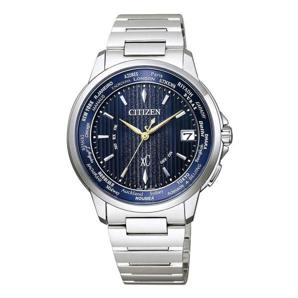 (11月新商品)(国内正規品)(シチズン)CITIZEN 腕時計 CB1020-54M (クロスシー)xC メンズ ハッピーフライト basic collection ペア限定モデル(ステンレスバンド 電波ソーラー アナログ)
