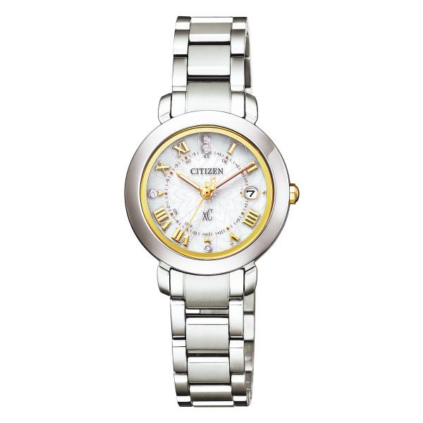 (11月新商品)(国内正規品)(シチズン)CITIZEN 腕時計 ES9440-51P (クロスシー)xC レディース ハッピーフライト ペア限定モデル(チタンバンド 電波ソーラー アナログ)