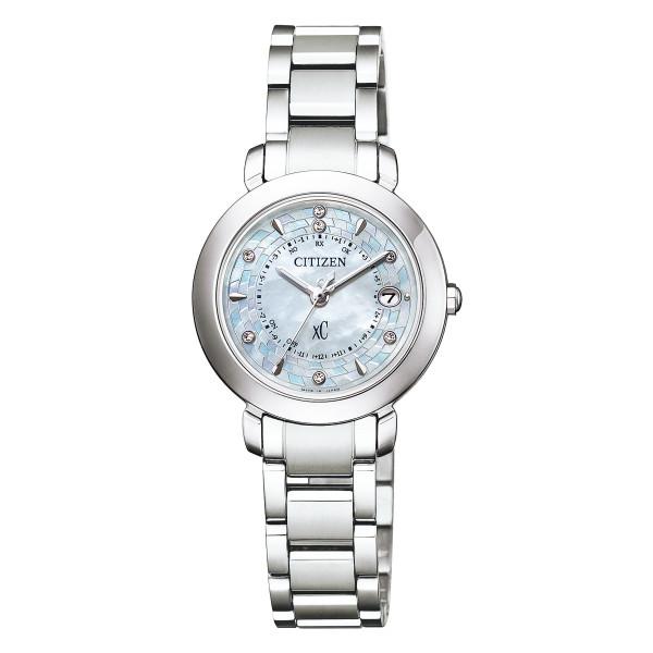 (11月新商品)(国内正規品)(シチズン)CITIZEN 腕時計 ES9440-51W (クロスシー)xC レディース ハッピーフライト hikari collection 限定モデル(チタンバンド 電波ソーラー アナログ)