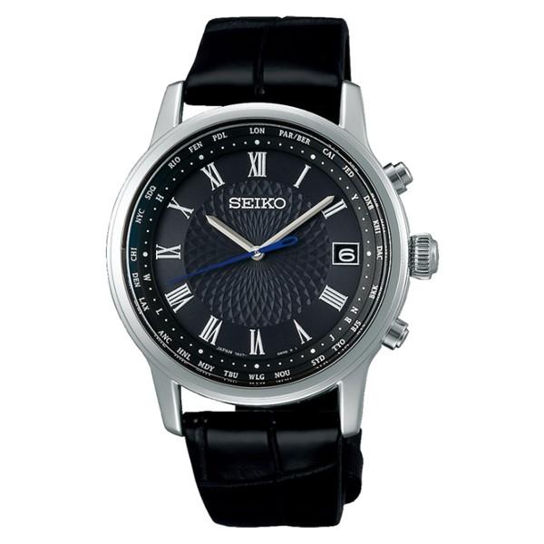 (国内正規品)(セイコー)SEIKO 腕時計 SAGZ101 (ブライツ)BRIGHTZ メンズ Bespoke Tailor Dittos. Limited Edition 限定モデル(ワニ革バンド 電波ソーラー アナログ)