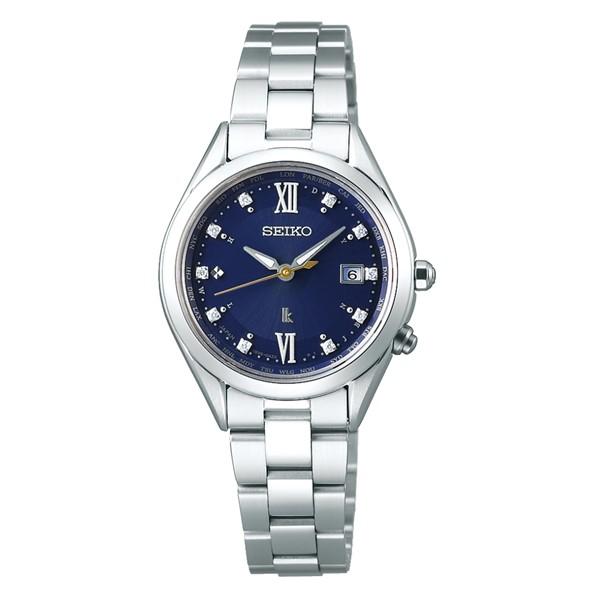(国内正規品)(セイコー)SEIKO 腕時計 SSQV071 LUKIA(ルキア) レディース ペアモデル 2019 エターナルブルー 限定モデル(チタンバンド 電波ソーラー アナログ)