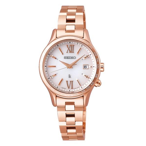 (国内正規品)(セイコー)SEIKO 腕時計 SSVV040 LUKIA(ルキア) レディース Lady Gold(ステンレスバンド 電波ソーラー アナログ)