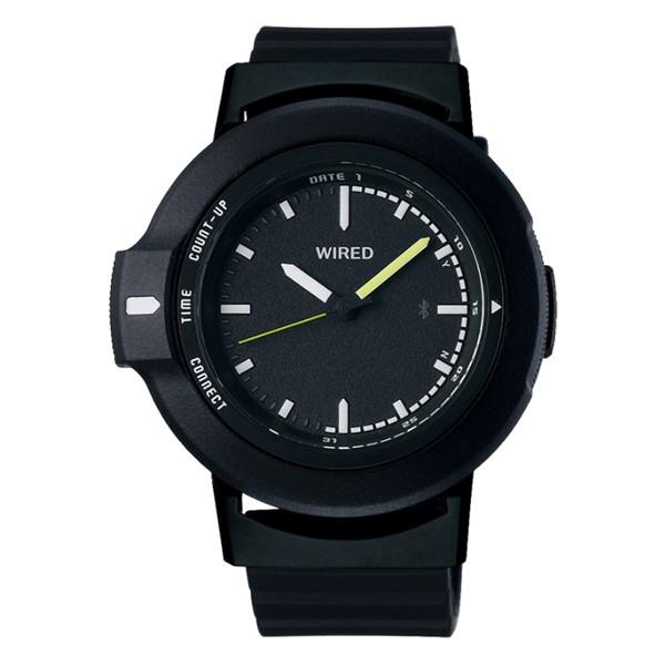 (11月新商品)(国内正規品)(セイコー)SEIKO 腕時計 AGAB401 (ワイアード)WIRED WW ツーダブ メンズ Bluetooth搭載(樹脂バンド クオーツ アナログ)