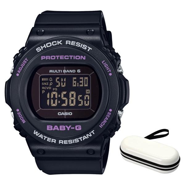 (時計ケースセット)(国内正規品)(カシオ)CASIO 腕時計 BGD-5700-1JF (ベビーG)BABY-G レディース(樹脂バンド 電波ソーラー デジタル)