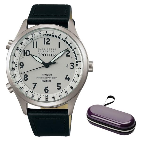 (11月新商品)(時計ケースセット)(国内正規品)(セイコー) 腕時計 SEIKO FCZB999 (マッキントッシュ フィロソフィー)MACKINTOSH PHILOSOPHY トロッター メンズ Bluetooth搭載(牛革バンド クオーツ アナログ)
