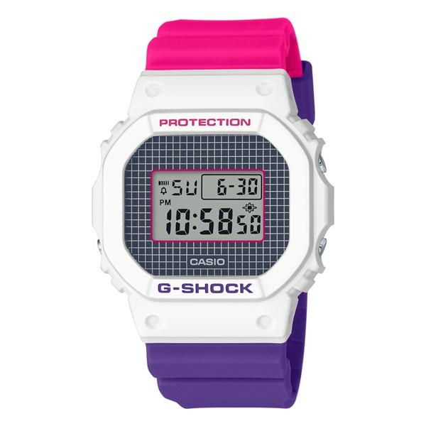 (11月新商品)(国内正規品)(カシオ)CASIO 腕時計 DW-5600THB-7JF (ジーショック)G-SHOCK メンズ Throwback 1990s(樹脂バンド クオーツ デジタル)
