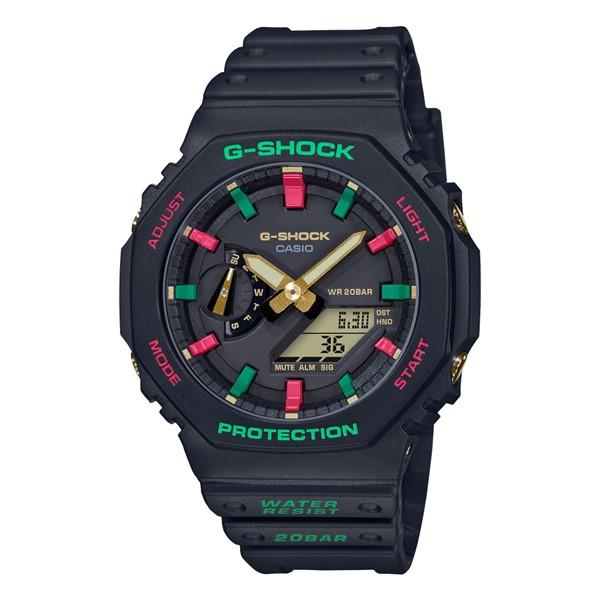 (11月新商品)(国内正規品)(カシオ)CASIO 腕時計 GA-2100TH-1AJF (ジーショック)G-SHOCK メンズ Throwback 1990s(樹脂バンド クオーツ アナデジ)