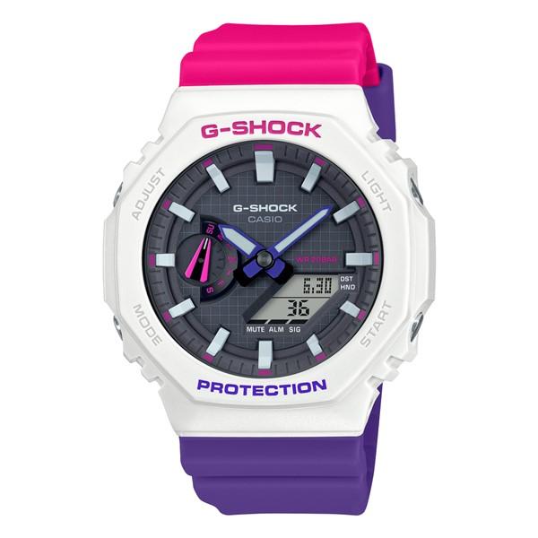 (11月新商品)(国内正規品)(カシオ)CASIO 腕時計 GA-2100THB-7AJF (ジーショック)G-SHOCK メンズ Throwback 1990s(樹脂バンド クオーツ アナデジ)