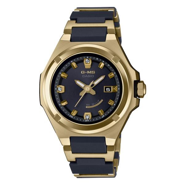 (11月新商品)(国内正規品)(カシオ)CASIO 腕時計 MSG-W325CGD-1AJR (ベビーG)BABY-G レディース G-MS 25周年記念 限定モデル(樹脂/ステンレスバンド 電波ソーラー アナログ)