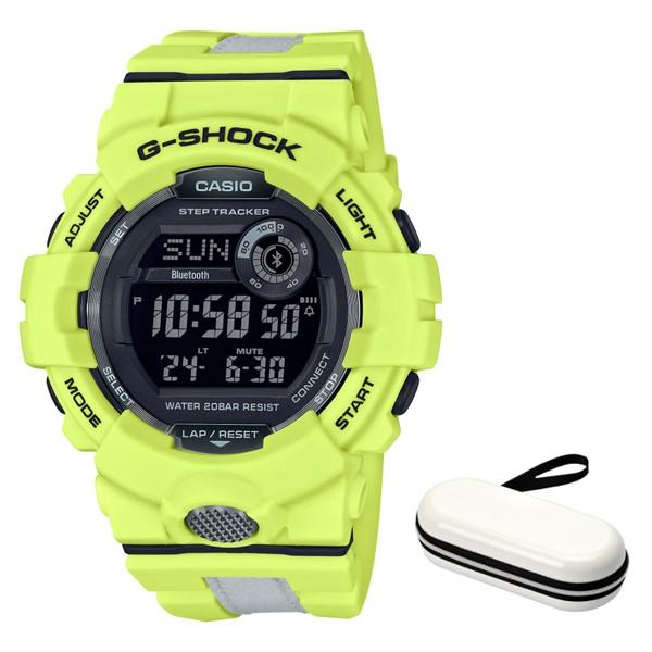 (11月新商品)(時計ケースセット)(国内正規品)(カシオ)CASIO 腕時計 GBD-800LU-9JF (ジーショック)G-SHOCK メンズ G-SQUAD Bluetooth搭載(樹脂バンド クオーツ デジタル)