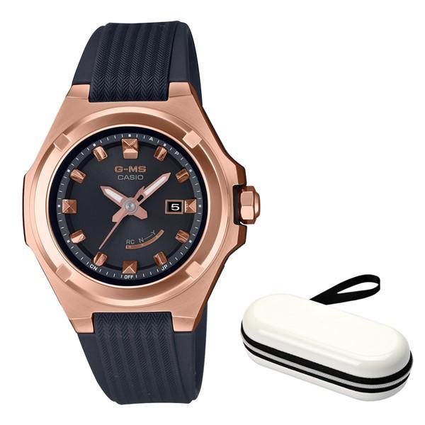 (11月新商品)(時計ケースセット)(国内正規品)(カシオ)CASIO 腕時計 MSG-W300G-1AJF (ベビーG)BABY-G レディース G-MS(樹脂バンド 電波ソーラー アナログ)