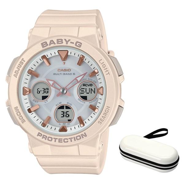 (11月新商品)(時計ケースセット)(国内正規品)(カシオ)CASIO 腕時計 BGA-2510-4AJF (ベビーG)BABY-G レディース アースカラー(樹脂バンド 電波ソーラー アナデジ)