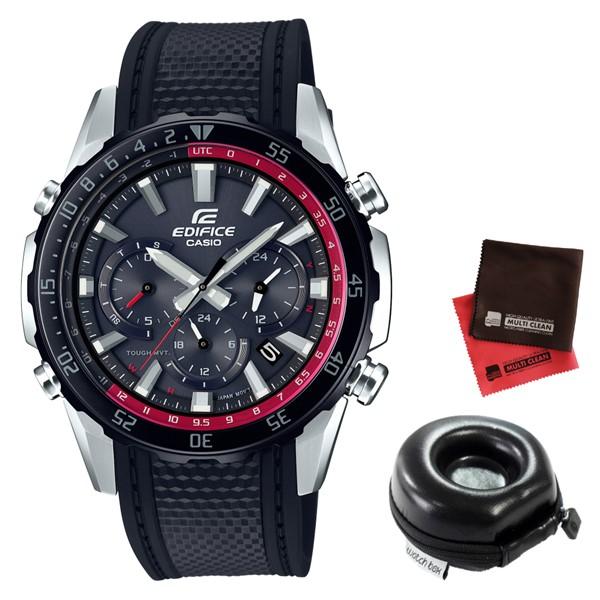 (11月新商品)(時計ケース丸型・クロスセット)(国内正規品)(カシオ)CASIO 腕時計 EQW-T670PB-1AJF (エディフィス)EDIFICE メンズ(樹脂バンド 電波ソーラー 多針アナログ)