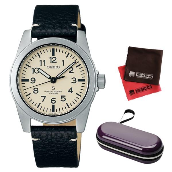 (時計ケース・クロスセット)(国内正規品)(セイコー)SEIKO 腕時計 SCXP169 セイコーセレクション メンズ nano・universe Special Edition ナノ・ユニバース SUSデザイン復刻モデル 流通限定(牛革バンド クオーツ アナログ)