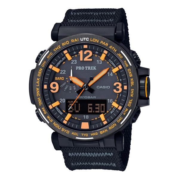(カシオ)CASIO 腕時計 PRG-600YB-1JF PROTREK(プロトレック) メンズ CAVE SAFARI SERIES クロスバンド ソーラー アナデジ(国内正規品)