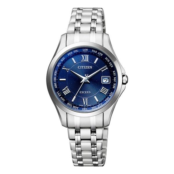 (シチズン)CITIZEN 腕時計 EC1120-59L (エクシード)EXCEED レディース ペアモデル エコドライブ ダイレクトフライト チタンバンド 電波ソーラー アナログ(国内正規品)