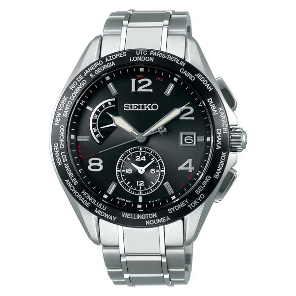 (セイコー)SEIKO 腕時計 SAGA301 (ブライツ)BRIGHTZ メンズ 20周年記念 限定モデル チタンバンド 電波ソーラー 多針アナログ(国内正規品)