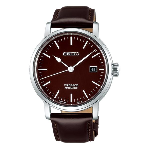 (セイコー)SEIKO 腕時計 SARX067 (プレザージュ)PRESAGE メンズ 琺瑯ダイヤル コアショップ専用 流通限定モデル 馬革 自動巻き(手巻付) アナログ(国内正規品)