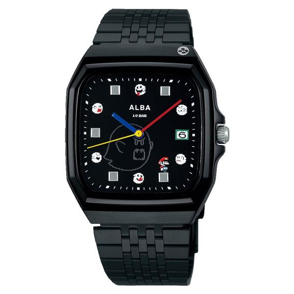 (セイコー)SEIKO 腕時計 ACCK426 (アルバ)ALBA メンズ レディース スーパーマリオコラボ「マリオワールド テレサ」 ステンレスバンド クオーツ アナログ(国内正規品)