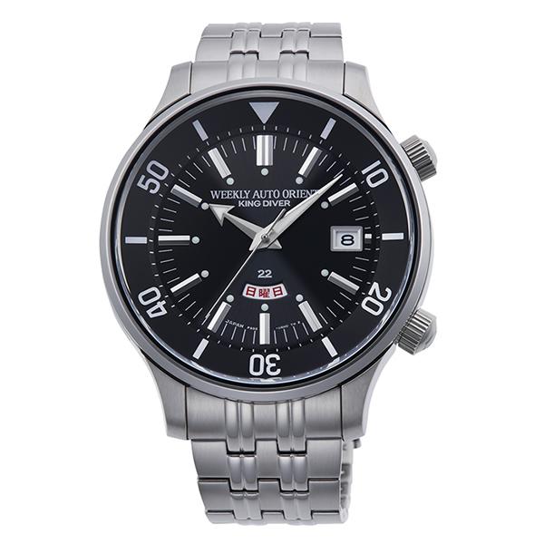 (オリエント)ORIENT 腕時計 RN-AA0D11B (リバイバル)REVIVAL メンズ キングダイバー 70周年記念 限定復刻モデル ステンレスバンド 自動巻き(手巻付)(国内正規品)