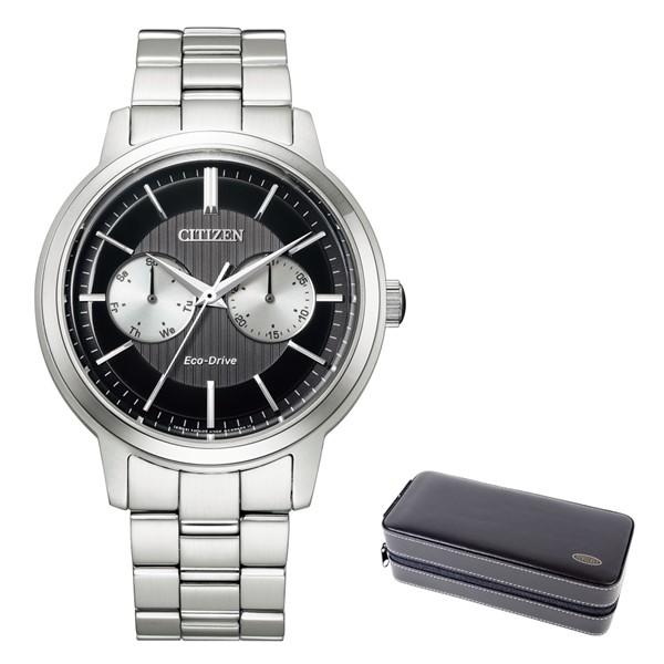 (時計ケースセット)(シチズン)CITIZEN 腕時計 BU4030-91E シチズンコレクション メンズ エコドライブ マルチカレンダー ステンレスバンド ソーラー 多針アナログ(国内正規品)