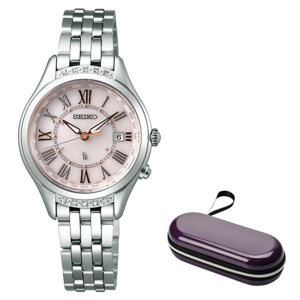 (時計ケースセット)(セイコー)SEIKO 腕時計 SSVV053 LUKIA(ルキア) レディース レディダイヤ ステンレスバンド 電波ソーラー アナログ(国内正規品)