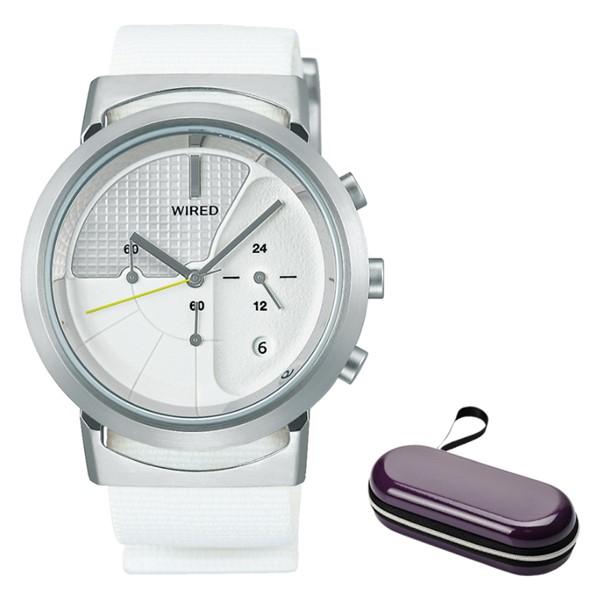 (時計ケースセット)(セイコー)SEIKO 腕時計 AGAT434 (ワイアード)WIRED WW ツーダブ メンズ Bluetooth搭載 ナイロンバンド クオーツ アナログ(国内正規品)