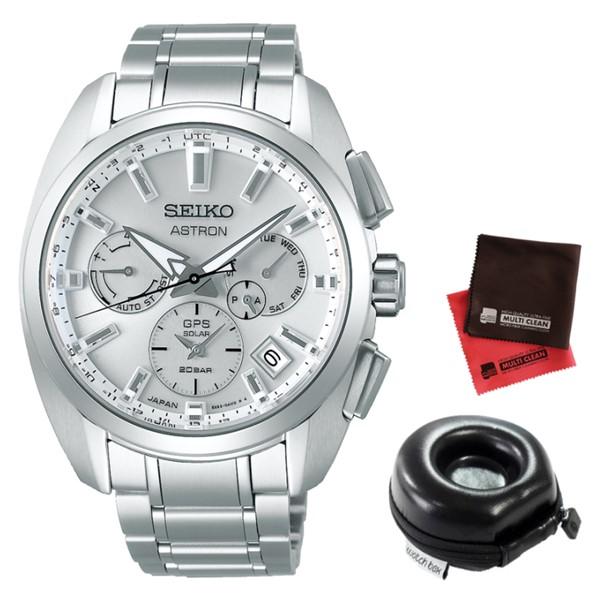 (時計ケース丸型・クロスセット)セイコー SEIKO 腕時計 SBXC063 アストロン ASTRON メンズ チタンバンド GPS電波ソーラー 多針アナログ(国内正規品)(7月新商品)