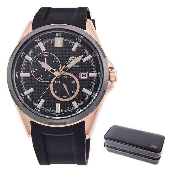(時計ケースセット)(オリエント)ORIENT 腕時計 RN-AK0604B (スポーツ)SPORTS メンズ Urban styie アーバンスタイル シリコンバンド 自動巻き(手巻付) 多針アナログ(国内正規品)