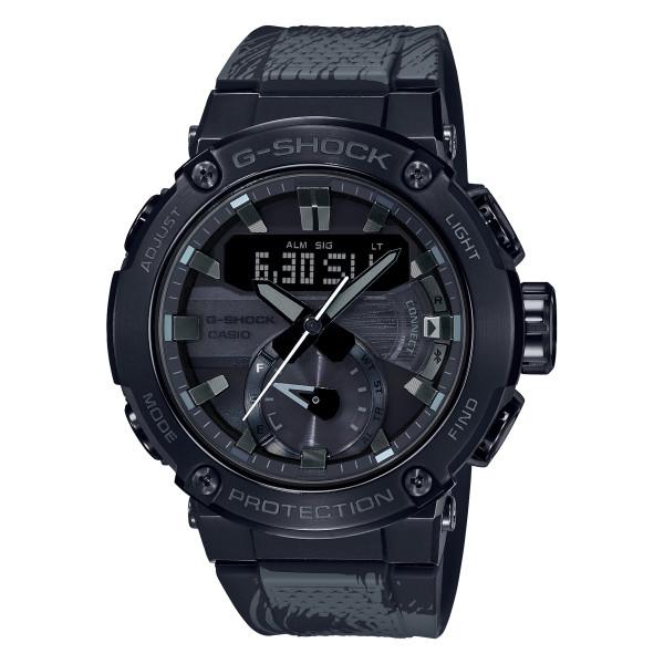 (カシオ)CASIO 腕時計 GST-B200TJ-1AJR (ジーショック)G-SHOCK G-STEEL メンズ Formless太極 コラボモデル Bluetooth搭載 樹脂バンド ソーラー アナデジ(国内正規品)