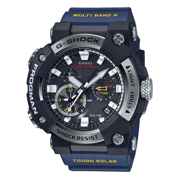 (カシオ)CASIO 腕時計 GWF-A1000-1A2JF (ジーショック)G-SHOCK FROGMAN フロッグマン MASTER OF G メンズ Bluetooth搭載 樹脂バンド 電波ソーラー 多針アナログ(国内正規品)