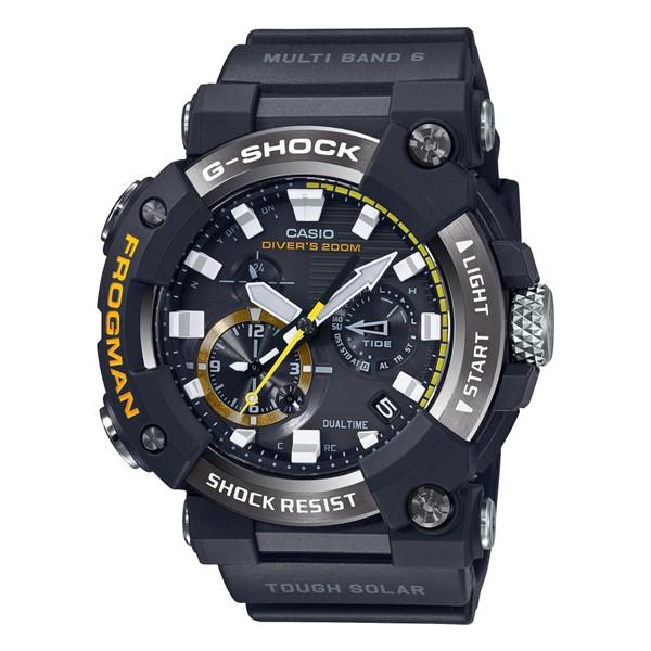 (カシオ)CASIO 腕時計 GWF-A1000-1AJF (ジーショック)G-SHOCK FROGMAN フロッグマン MASTER OF G メンズ Bluetooth搭載 樹脂バンド 電波ソーラー 多針アナログ(国内正規品)