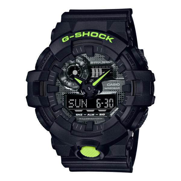 (カシオ)CASIO 腕時計 GA-700DC-1AJF (ジーショック)G-SHOCK メンズ Black and Yellow Series 樹脂バンド クオーツ アナデジ(国内正規品)