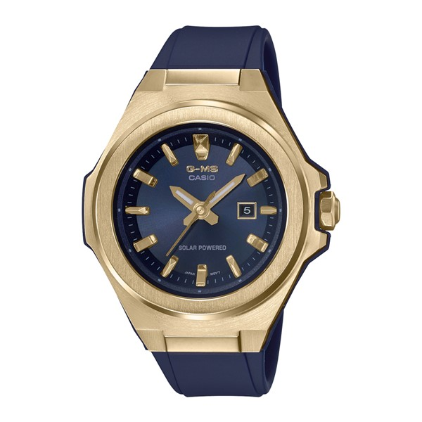 (カシオ)CASIO 腕時計 MSG-S500G-2AJF (ベビーG)BABY-G レディース G-MS 樹脂バンド ソーラー アナログ(国内正規品)