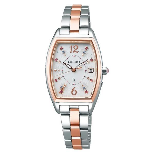 (セイコー)SEIKO 腕時計 SSVW172 LUKIA(ルキア) レディース 2020 サマー 限定モデル ステンレスバンド 電波ソーラー アナログ(国内正規品)