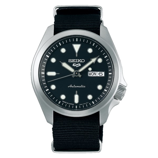 (セイコー)SEIKO 腕時計 SBSA057 (5スポーツ)SEIKO 5 SPORTS メンズ メカニカル Sports ソリッドボーイ 流通限定モデル ナイロンバンド 自動巻き(手巻付) アナログ(国内正規品)