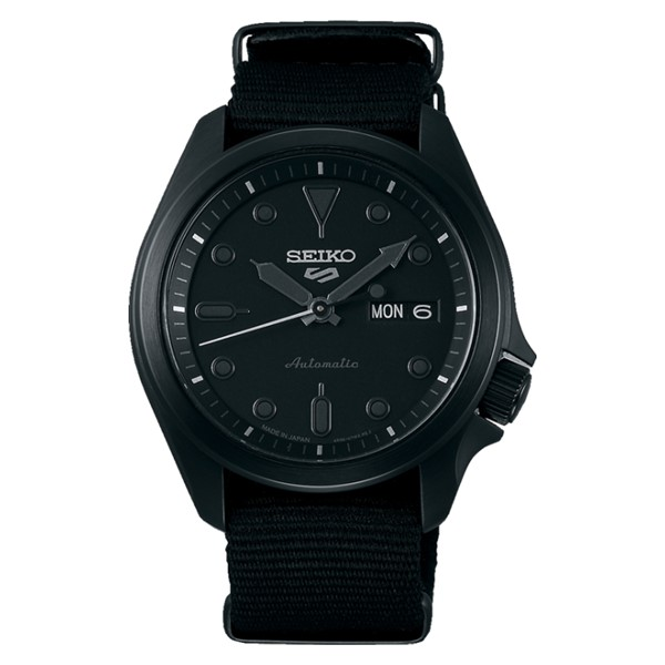(セイコー)SEIKO 腕時計 SBSA059 (5スポーツ)SEIKO 5 SPORTS メンズ メカニカル Sports ソリッドボーイ 流通限定モデル ナイロンバンド 自動巻き(手巻付) アナログ(国内正規品)
