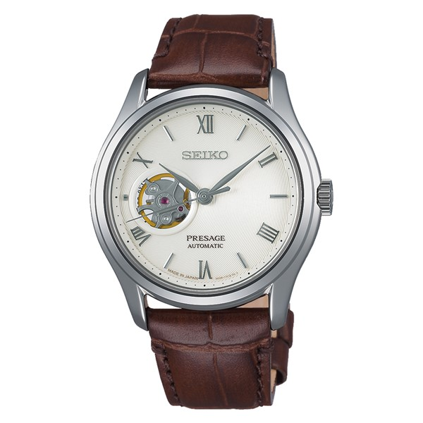 (セイコー)SEIKO 腕時計 SARY175 (プレザージュ)PRESAGE メンズ 日本庭園 ジャパニーズガーデン 牛革バンド 自動巻き(手巻付) アナログ(国内正規品)