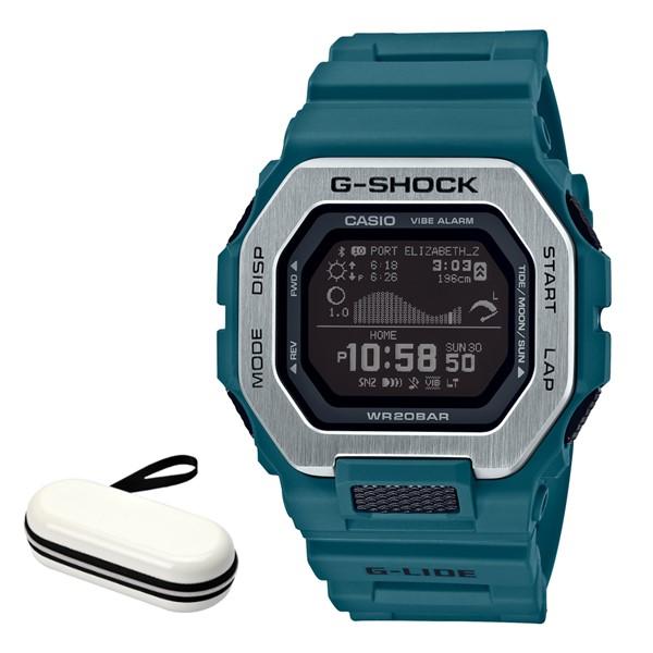 (時計ケースセット)(カシオ)CASIO 腕時計 GBX-100-2JF (ジーショック)G-SHOCK メンズ G-LIDE Bluetooth搭載 樹脂バンド クオーツ デジタル(国内正規品)