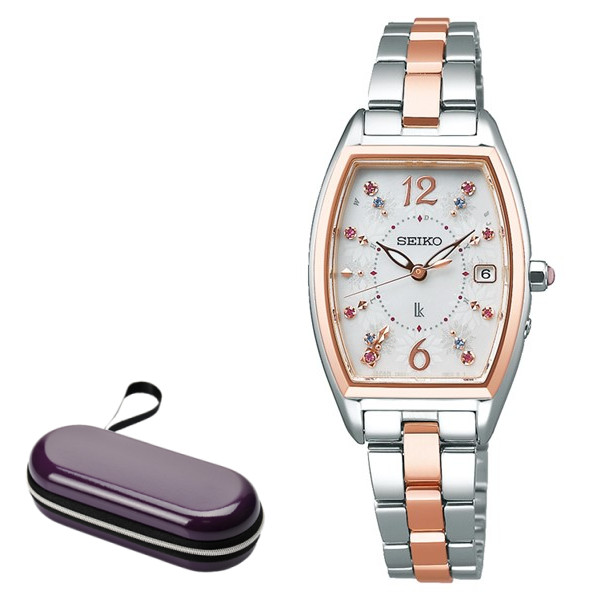 (時計ケースセット)(セイコー)SEIKO 腕時計 SSVW172 LUKIA(ルキア) レディース 2020 サマー 限定モデル ステンレスバンド 電波ソーラー アナログ(国内正規品)