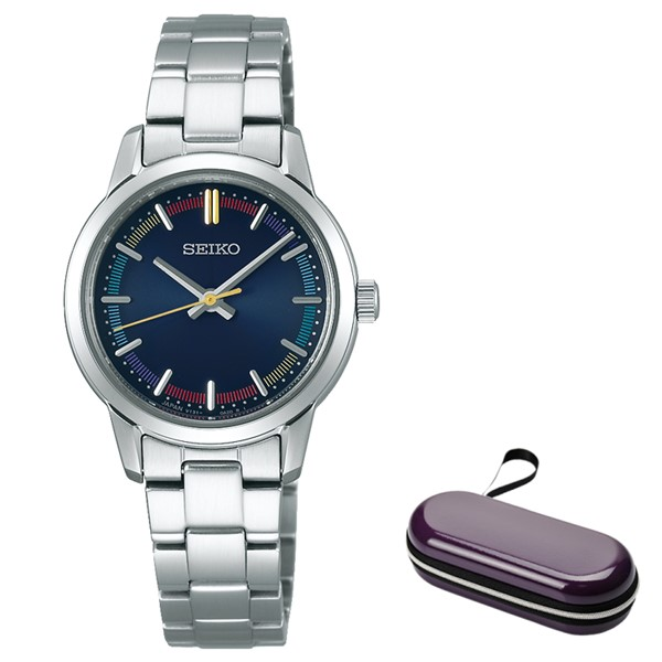 (時計ケースセット)(セイコー)SEIKO 腕時計 STPX079 セイコーセレクション ペアモデル レディース 2020 サマー 限定 ステンレスバンド ソーラー アナログ(国内正規品)