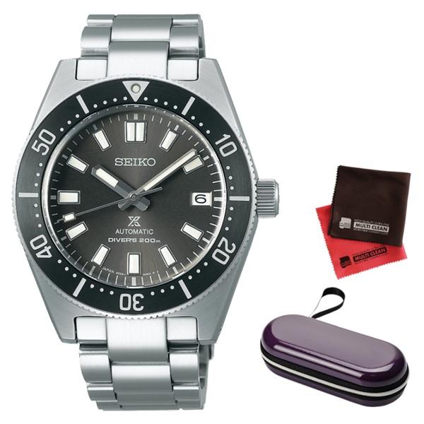 (時計ケース・クロスセット)(セイコー)SEIKO 腕時計 SBDC101 (プロスペックス)PROSPEX メンズ 国産ファーストダイバーズ 現代デザイン コアショップ専用 ステンレスバンド 自動巻き(手巻付) アナログ(国内正規品)