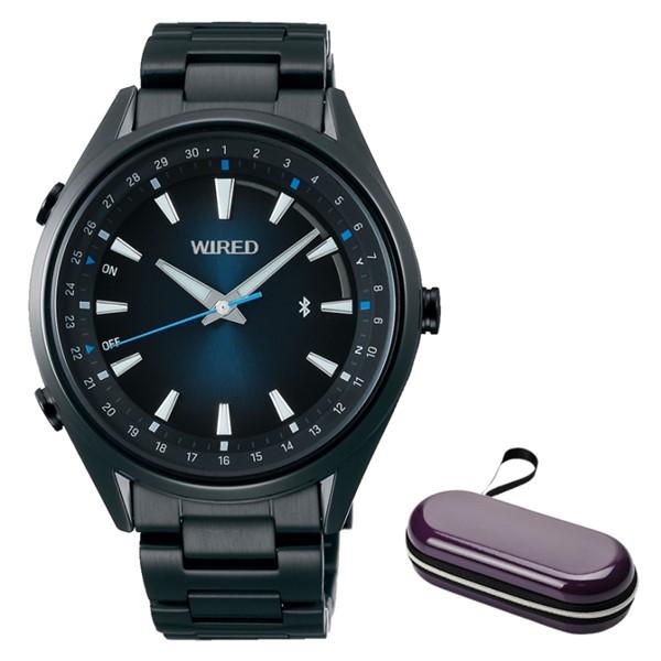 (時計ケースセット)(セイコー)SEIKO 腕時計 AGAB413 (ワイアード)WIRED メンズ TOKYO SORA Bluetooth搭載 ステンレスバンド クオーツ アナログ(国内正規品)